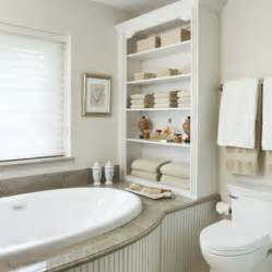 Adding A Shower To A Bathtub by Home Dzine Bathrooms Ideas For Bathroom Shelves
