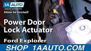 How To Replace Power Door Lock Actuator 88-03 Ford Explorer
