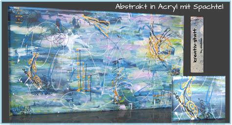 abstrakt malen mit spachtel abstract painting