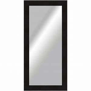 Miroir Cadre Noir : miroir stickers cadre miroir et affiche leroy merlin ~ Teatrodelosmanantiales.com Idées de Décoration