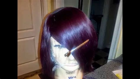 Short Bob Wig Using Outre' Duby Velvet Remy Hair