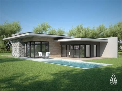 single level home designs modern single house 5 flat roof modern house