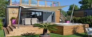 terrasse surelevee With terrasse en bois surelevee
