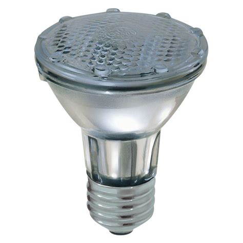 ge 35 watt halogen par20 flood light bulb 35par20hfl30rvtp