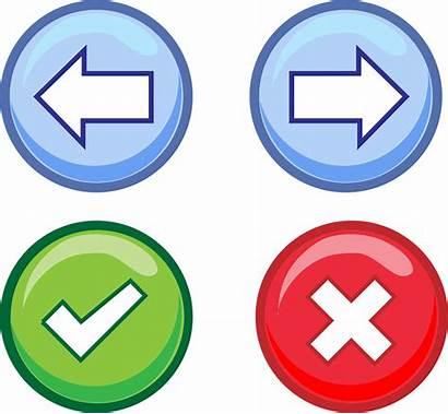 Button Buttons Clipart Web Website Clip Transparent