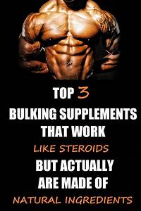 Best Bulking Supplements For Muscle Growth  With Images