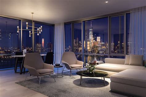 Fancy Apartment : Peek Inside Park And Shore, Jersey City's 'ultra Luxury