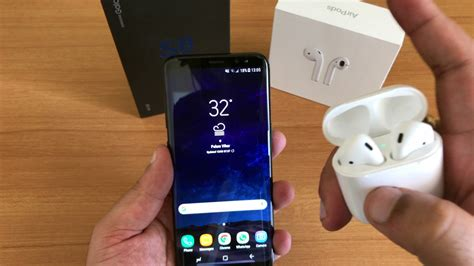 do apple airpods work with samsung galaxy s8 doovi