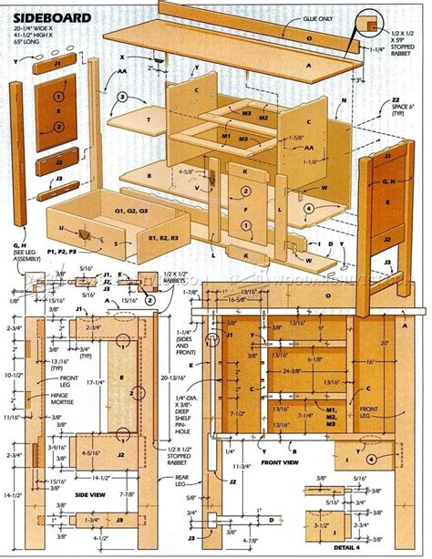 dining room furniture plans woodarchivist