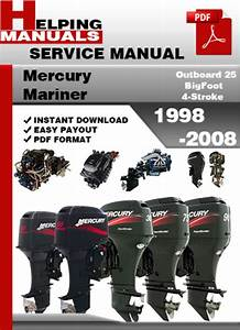 Mercury Mariner Outboard 25 Bigfoot 4