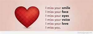 Missing you a lot quotes