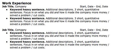 how to write a kick resume