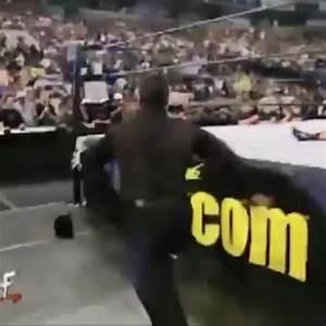 "Watch Wrestling LAD's Vine ""Shane McMahon runs into a ..."