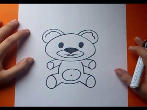 como dibujar un de peluche paso a paso 7 how to draw a teddy 7