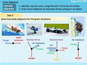 Forces In Balance  Force Diagrams  Reaction Pairs  Newton U0026 39 S Third Law
