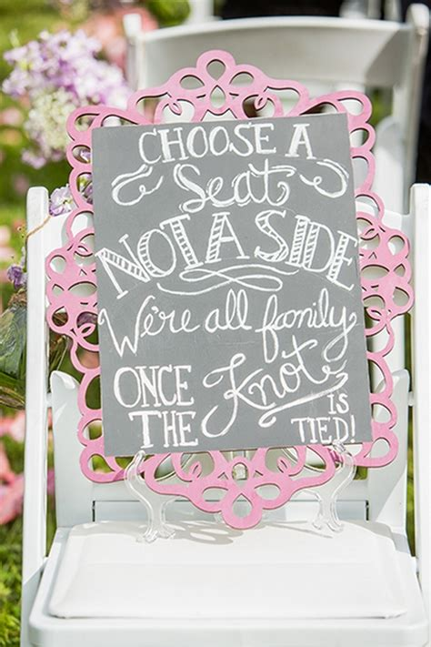 clever wedding signs  guests    kick
