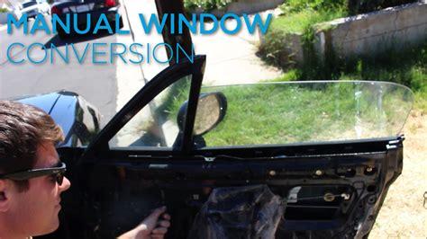 Retro Miata Power Manual Window Conversion Youtube