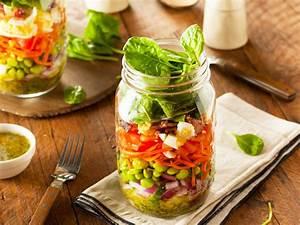 Salat Selber Anbauen : salat im glas so schichten sie richtig lecker ~ Markanthonyermac.com Haus und Dekorationen