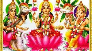 Laxmi Ganesh Saraswati : Hd Wallpapers