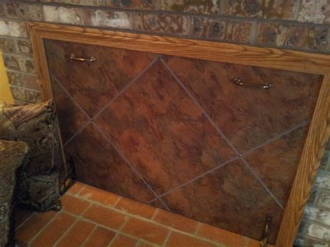 fireplace draft cover 66 best images about fireplace screens covers on