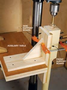 Vertical Drill Press Drilling Jig Plans