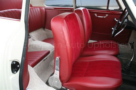 Porsche 356 Coupe 1964 With Red Corduroy