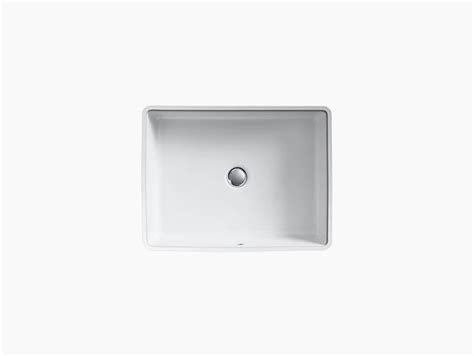 Kohler Verticyl Rectangular Undermount Sink by K 2882 Verticyl Undermount Rectangular Sink Kohler