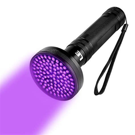 uv licht le le uv licht taschenle schwarzlicht mit 100 leds