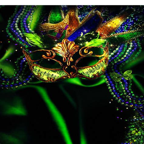 Mardi Gras Background 10x10ft Mardi Gras Mask Masquerade Custom Photo Studio