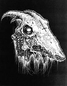 Satanic Goat Skull