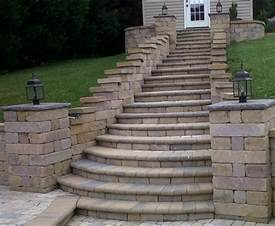 Image of: Brick Step Design Driverlayer Search Engine Beautiful Stair Design Both For Modern And Traditional House