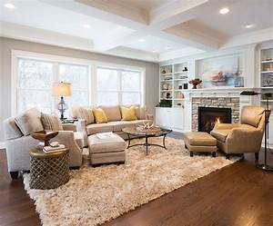 10, How, To, Arrange, Living, Room, Furniture, With, Fireplace, And, Tv