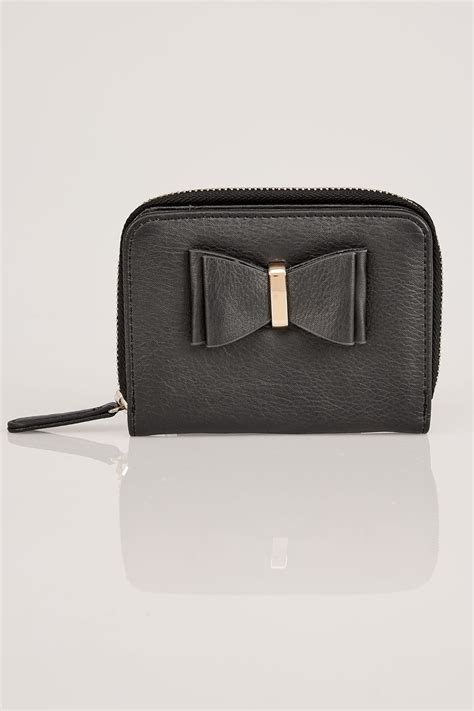 c add to container with templates black purse with bow front detail