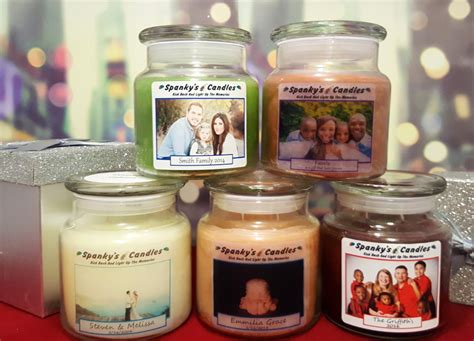 Custom Personalized Candle
