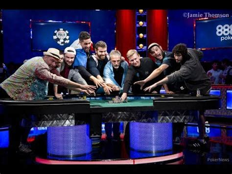 wsop main event final table 2017 wsop 2017 main event final table set youtube