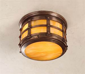 Tudor style ceiling light beautifully handcrafted copper