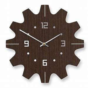 Stylish wall clocks wall stickers modern world for Modern wall clock design