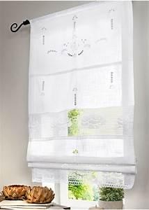 Raffrollo Mit Schlaufen 140 Breit : 2 st raffrollo rollo 60 x 140 wei h kel spitze landhaus stil tunnelzug neu ebay ~ Whattoseeinmadrid.com Haus und Dekorationen