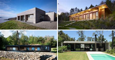 15 Examples Of Single Story Modern Houses From Around The