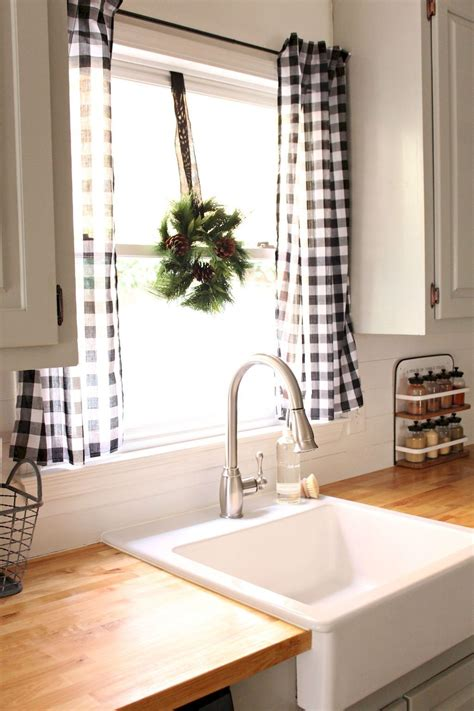 Permalink to Farmhouse Kitchen Curtains