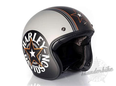 motorradhelm harley davidson harley davidson helm grey retro ec 98320 15e bei thunderbike