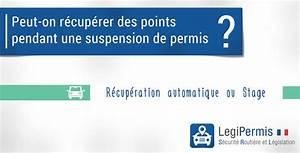 Recupération De Point : r cuperer des points pendant une suspension de permis legipermis ~ Medecine-chirurgie-esthetiques.com Avis de Voitures