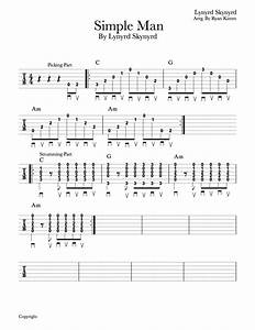 Easy Guitar S Simple Man By Lynyrd Skynyrd Musika Blog