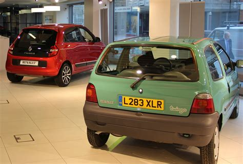renault twingo mk1 renault shows what makes a small car great at smmt smmt