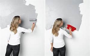 Wandgestaltung in Betonoptik [SCHÖNER WOHNEN]