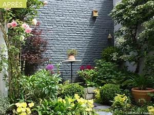 avant apres une petite cour transformee en cocon With amenagement petit jardin avec terrasse 2 petit jardin et ses fruits jardin potager jardineries