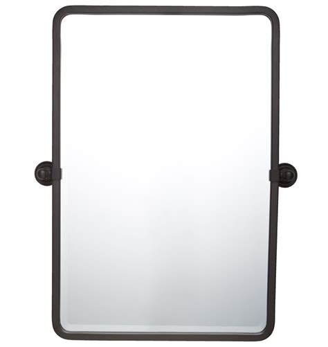 Pivot Bathroom Mirror by Landry Pivoting Rounded Rectangle Mirror 32 Quot