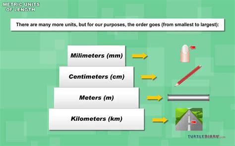 metric units  length youtube