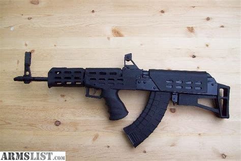 Ak-47 With Bullpup Conversion Kit