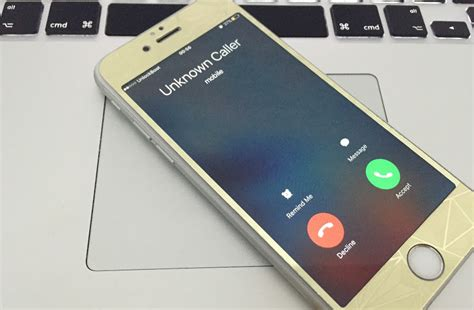 how to block unknown calls on iphone